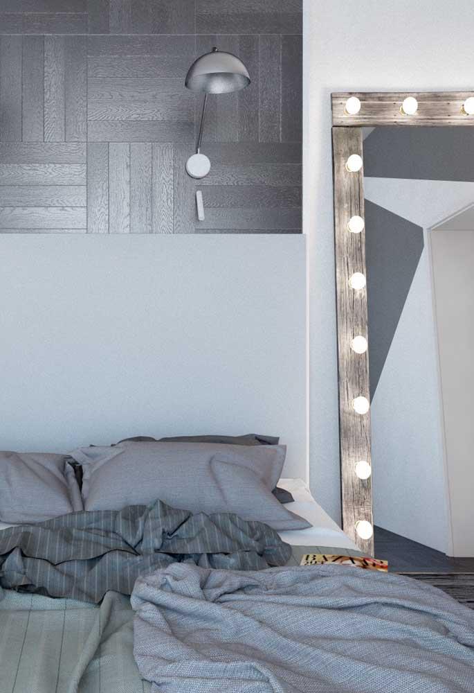 Olha que revestimento diferenciado para colocar na parede do seu quarto.