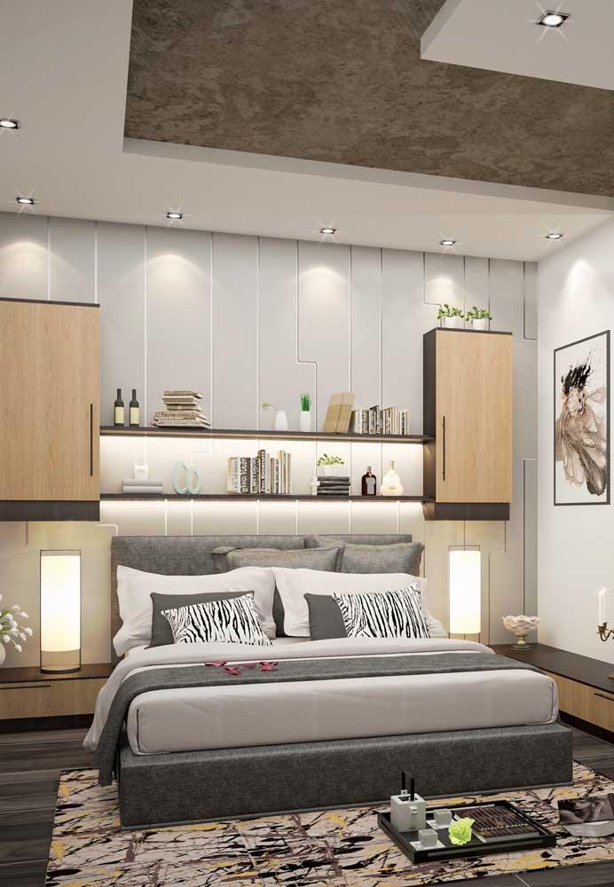 Uma decoração harmoniosa deixa qualquer quarto lindo.