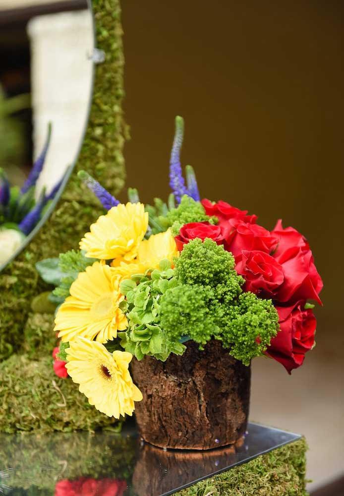 Flores do campo para relembrar a história de uma das personagens mais queridas de todos os tempos