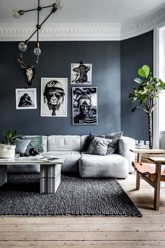 O sofá de sarja é ideal para quem deseja economizar uma graninha, sem perder qualidade e beleza no sofá