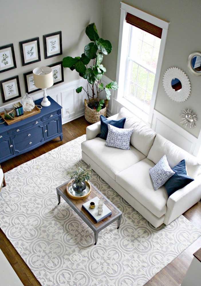 Um tapete que mais parece um piso