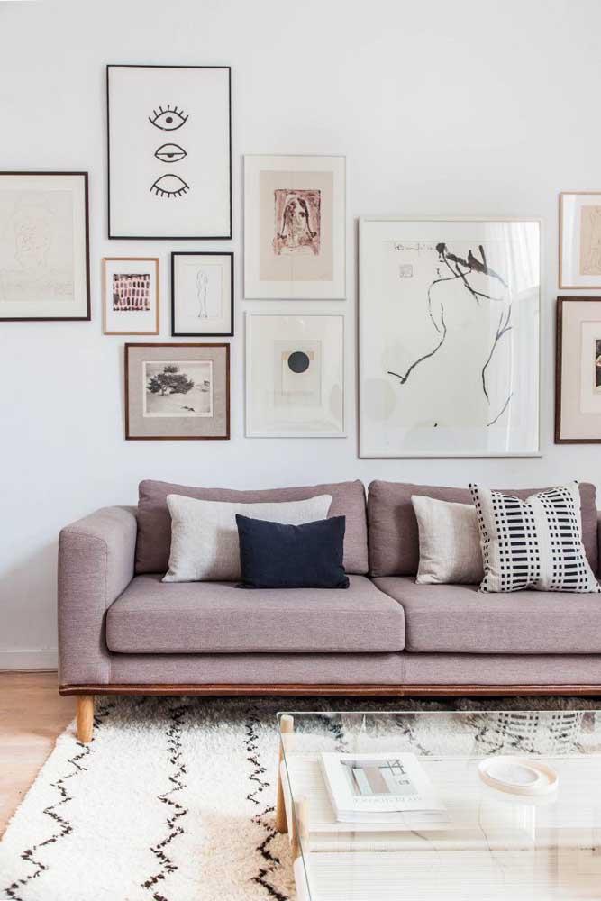 Tapete berber marroquino para sala de estar: ideal para decorações de estilo escandinavo, industrial, minimalista e boho