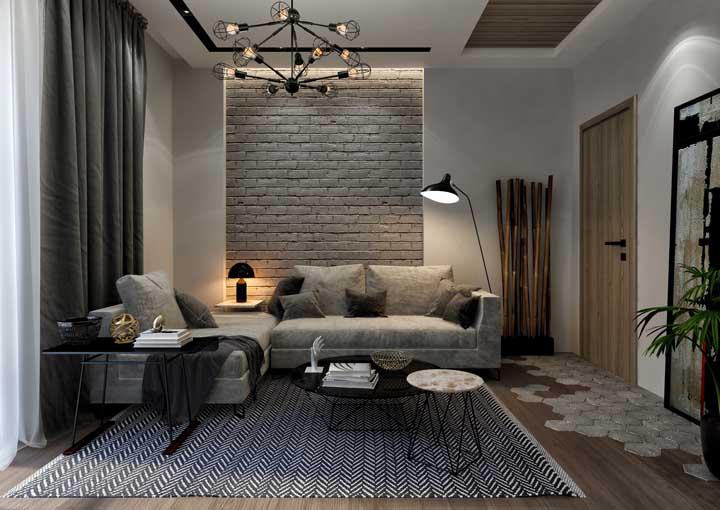 Tapete de estampa preta e branca é sempre uma boa pedida, seja qual for o seu estilo de decoração