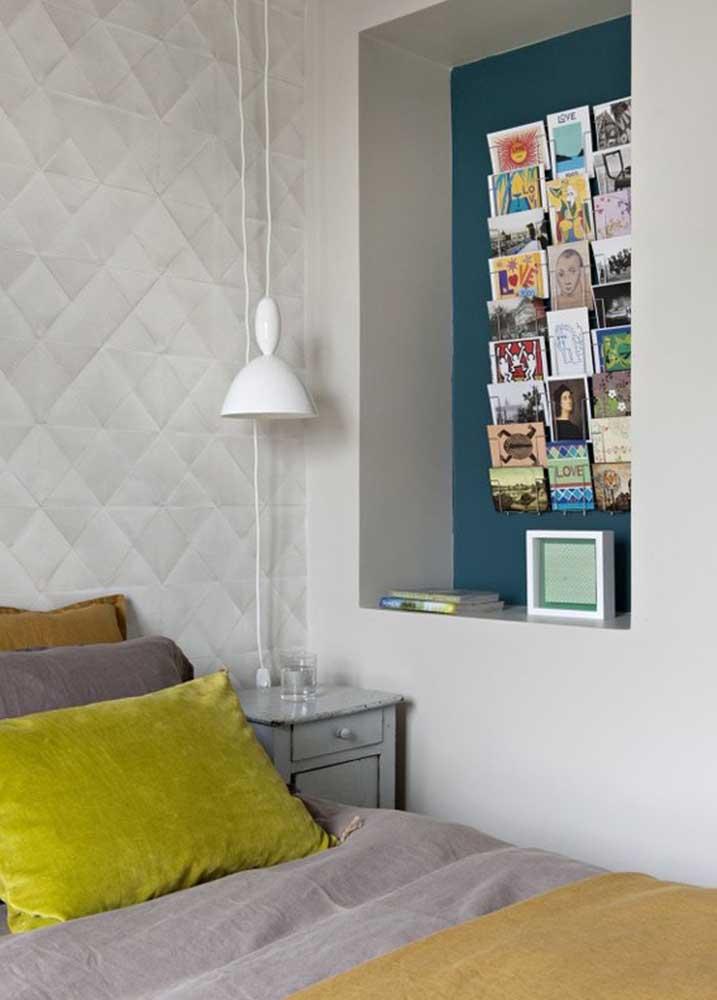 Nicho de parede embutido: solução moderna para inserir os nichos nos ambientes