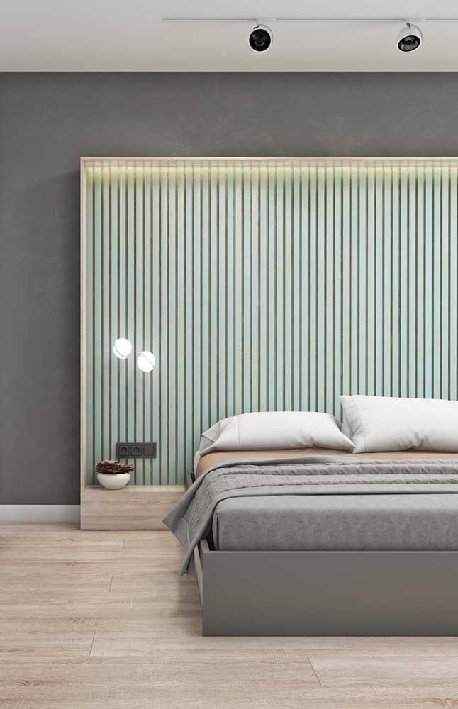 Nicho de parede para embutir a cama: proposta diferente e original
