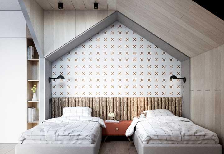 Nicho de parede em formato de casinha: as crianças vão amar!