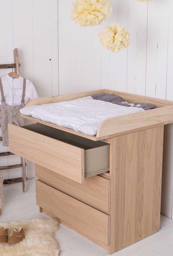 Cômoda em MDF amadeirado: a beleza da madeira com a versatilidade e o preço acessível do MDF