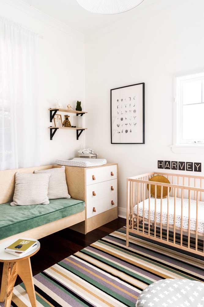 Cômoda e cama integradas: melhor aproveitamento dos espaços do quarto