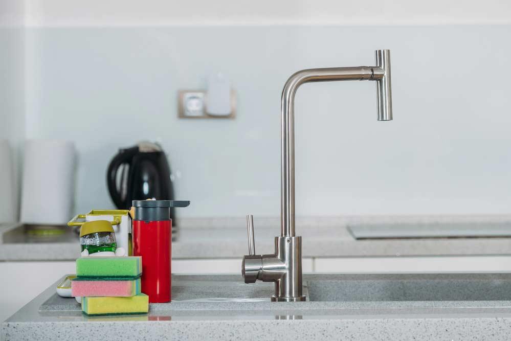 Como economizar água cozinha