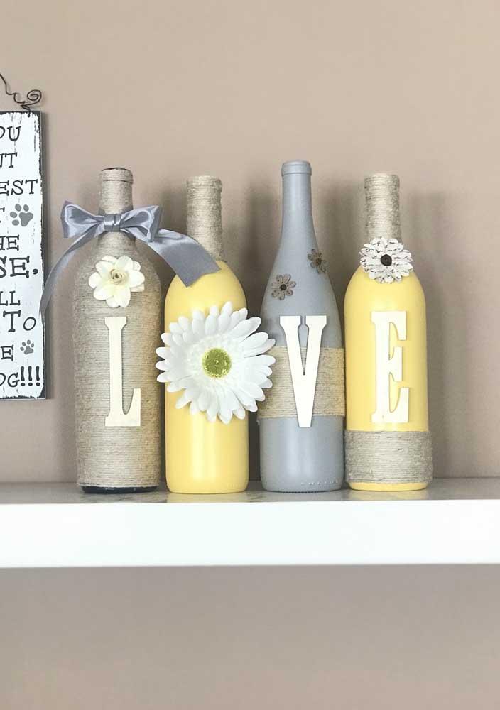 E que tal agora levar amor para a decoração da casa?