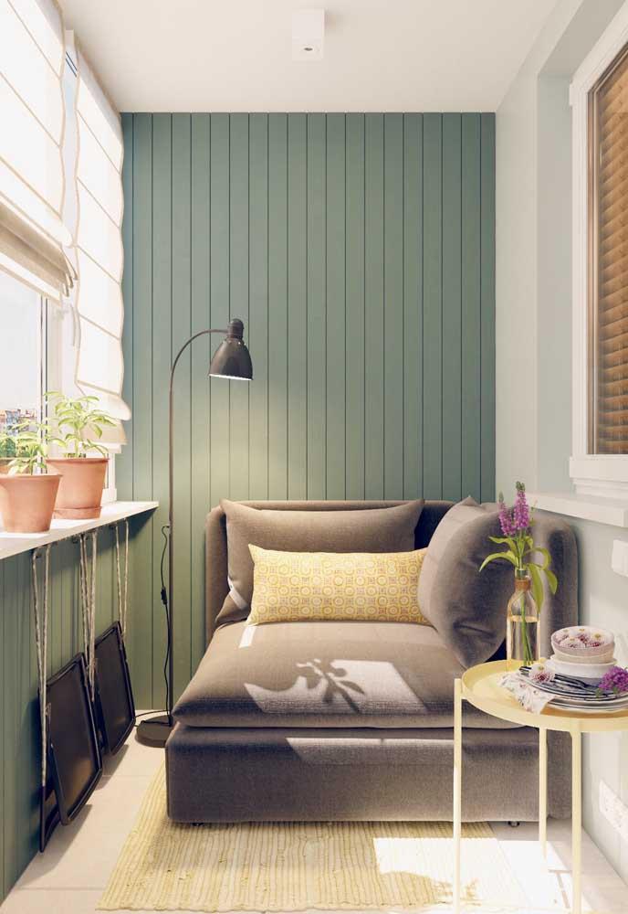 Namoradeira na varanda: cantinho perfeito para relaxar e descansar