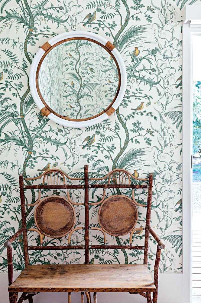 Para quem gosta de peças originais e exclusivas, essa namoradeira de bambu é uma inspiração e tanto