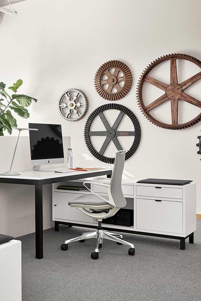 Detalhes decorativos fazem toda a diferença no estilo dos escritórios