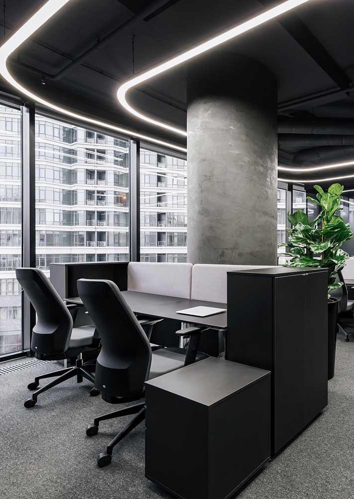 Móveis perfeitos para um escritório de advocacia moderno e elegante
