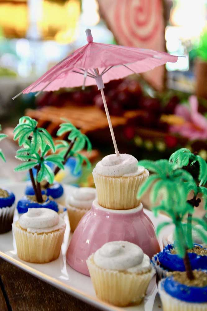 Cupcakes decorados também se destacam por aqui