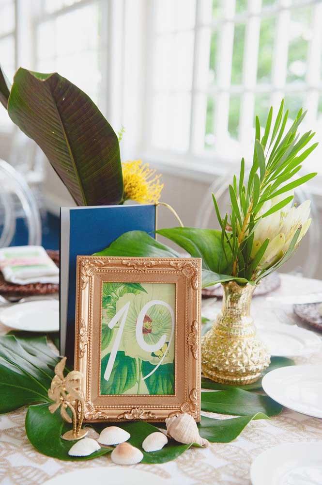 Conchas do mar também são uma boa pedida para a decoração da festa luau