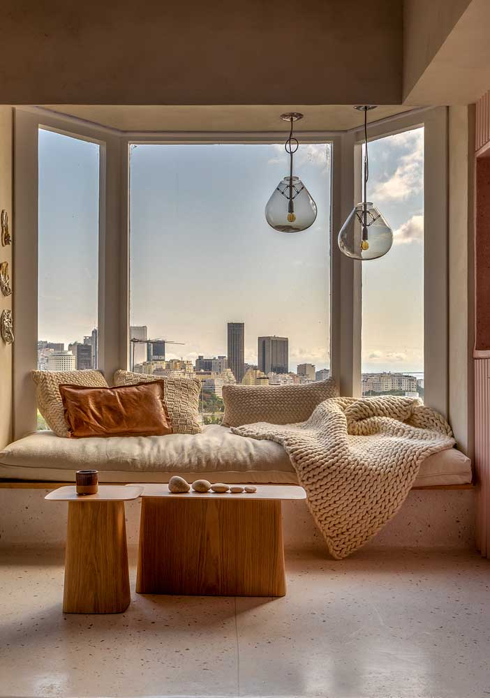 Bay Window com uma vista magnifica para a cidade