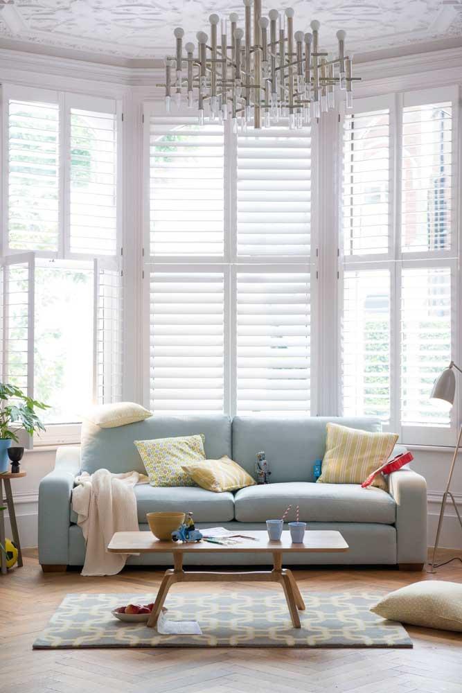 Modelo clássico e tradicional de Bay Window