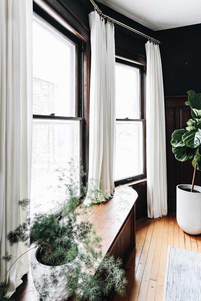 Um toque de elegância e refinamento com a Bay Window na sala de jantar