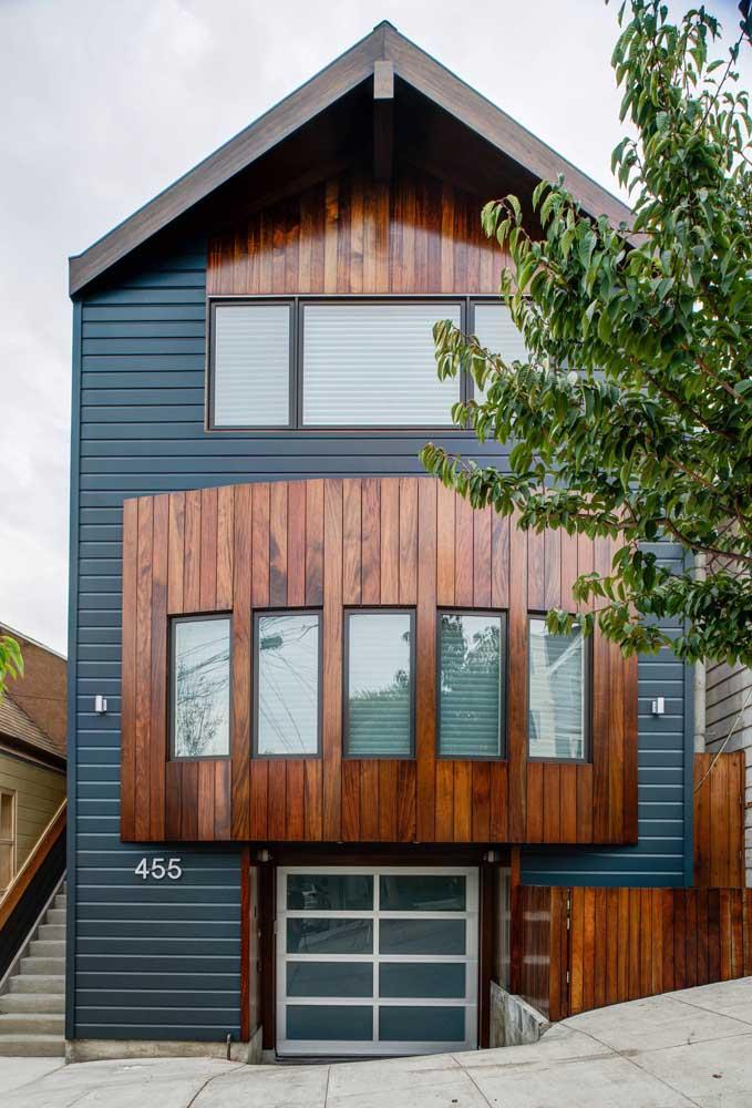Um modelo original e diferenciado de Bay Window na fachada