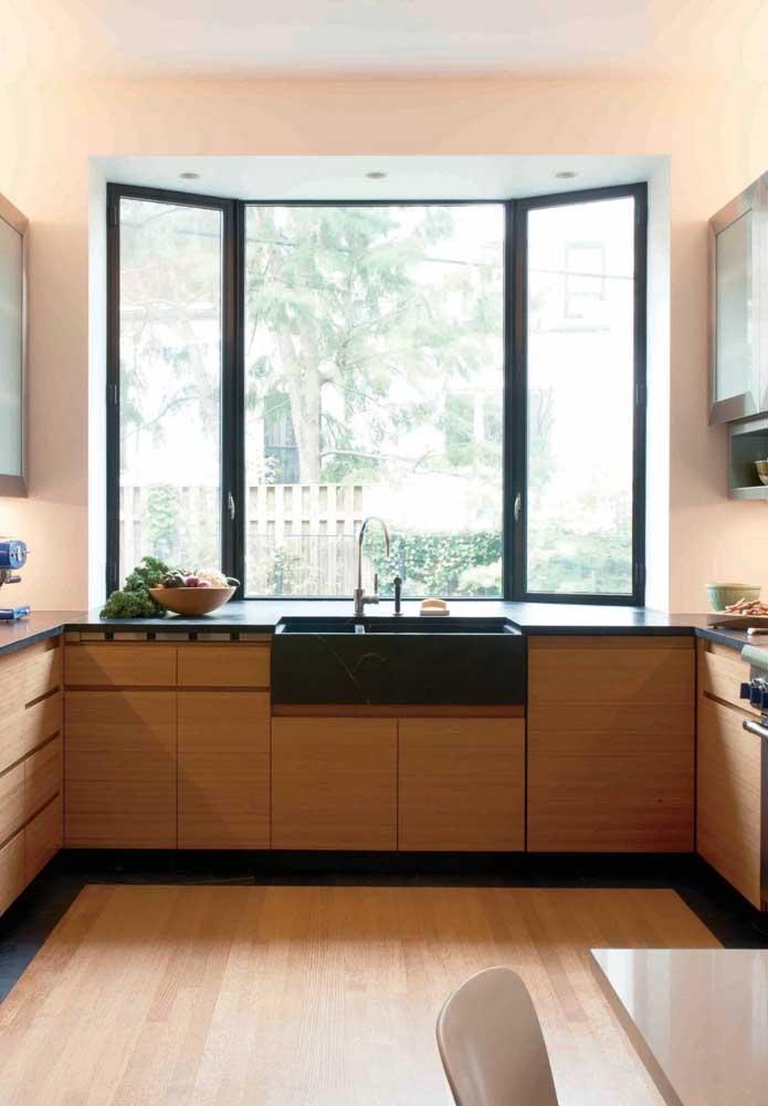 Uma grande vantagem da Bay Window é a capacidade de ampliação do espaço