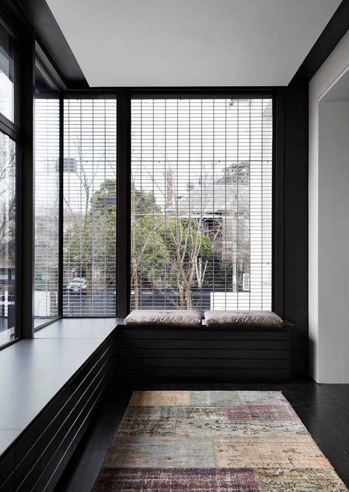 O preto é puro luxo, quando combinado à Bay Window então, nem se fale!