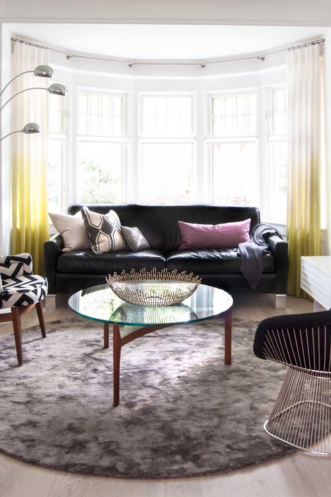 Sofá e Bay Window: combinação perfeita!