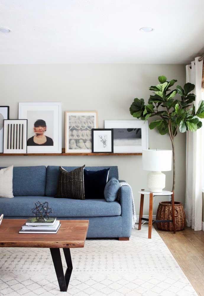 O azul tem sido considerado o novo preto da decoração, tamanha sua versatilidade e elegância nos ambientes