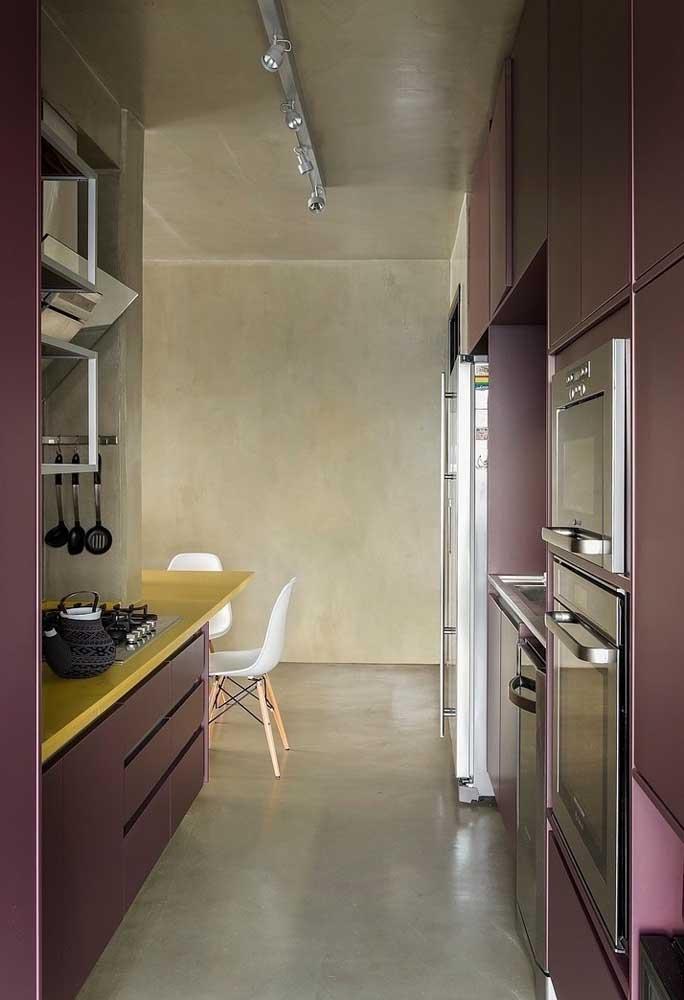 A mesma combinação pode ser feita na cozinha porque o resultado fica incrível.