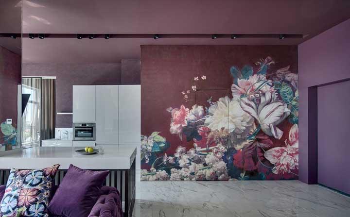 Tons de roxo: como combinar e 60 fotos super bacanas de decoração