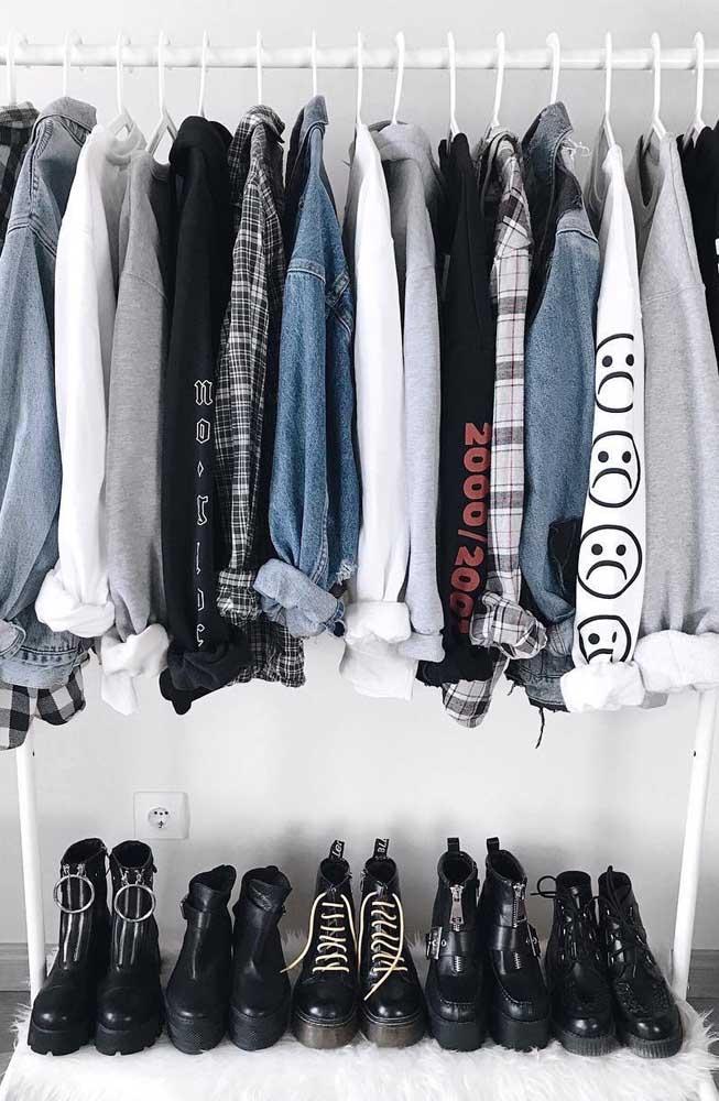 Monte seu armário cápsula a partir das peças que mais representam sua personalidade e estilo de vida