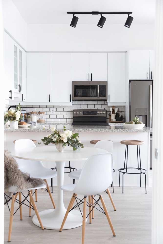Uma das maiores referências atuais do uso da cor branca na decoração é o estilo escandinavo