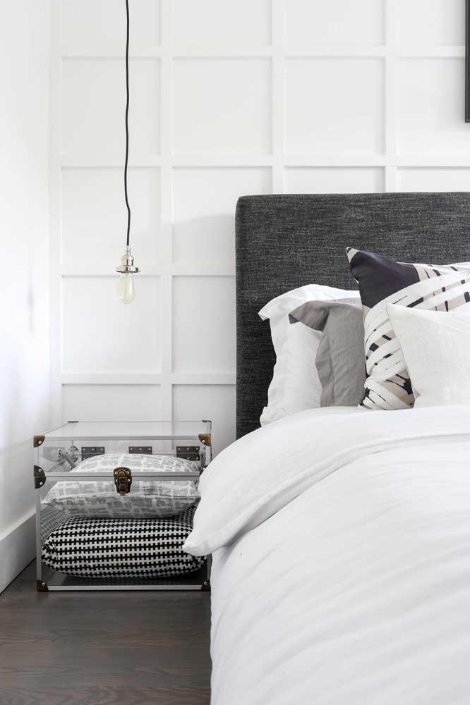 Branco, preto e cinza: um trio que cabe em qualquer estilo de decoração