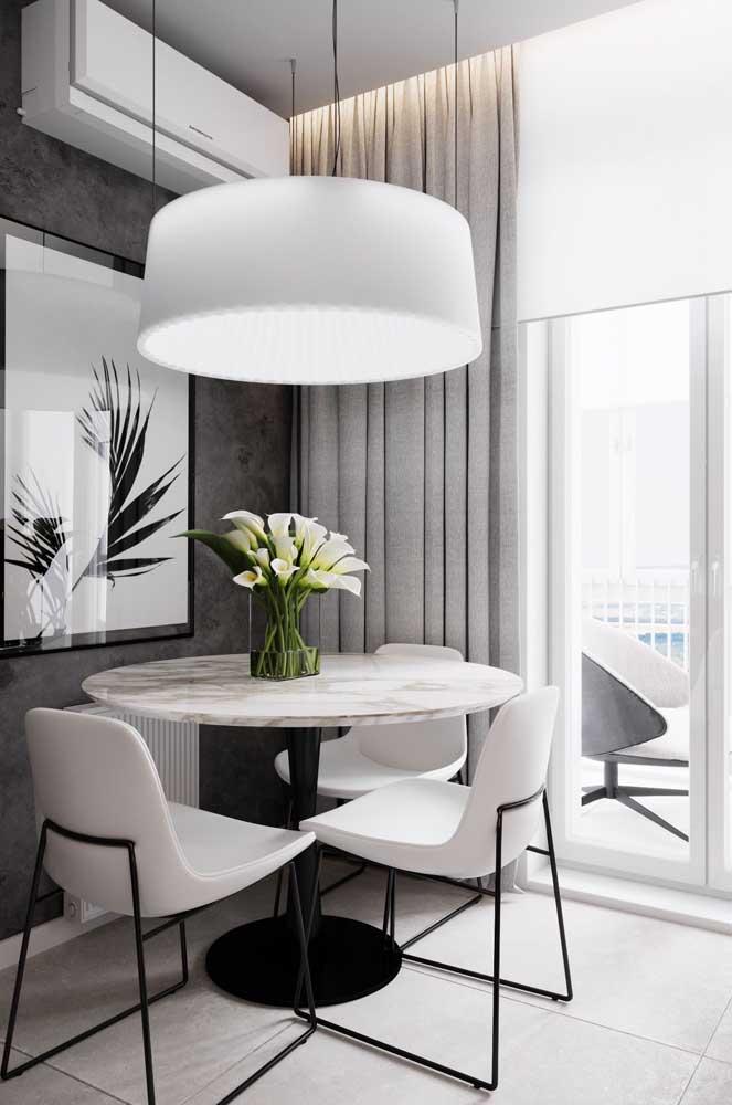 Elegância e sofisticação em duas cores: branco e preto