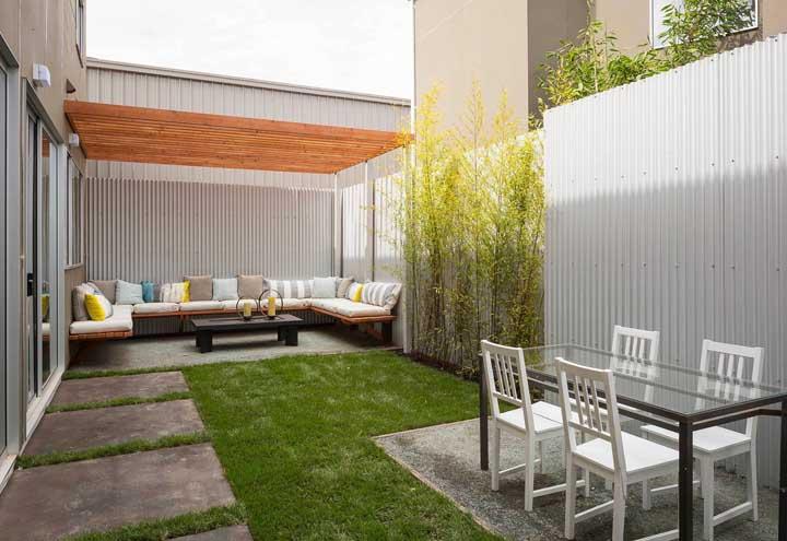Piso para quintal: materiais, dicas para escolher e fotos