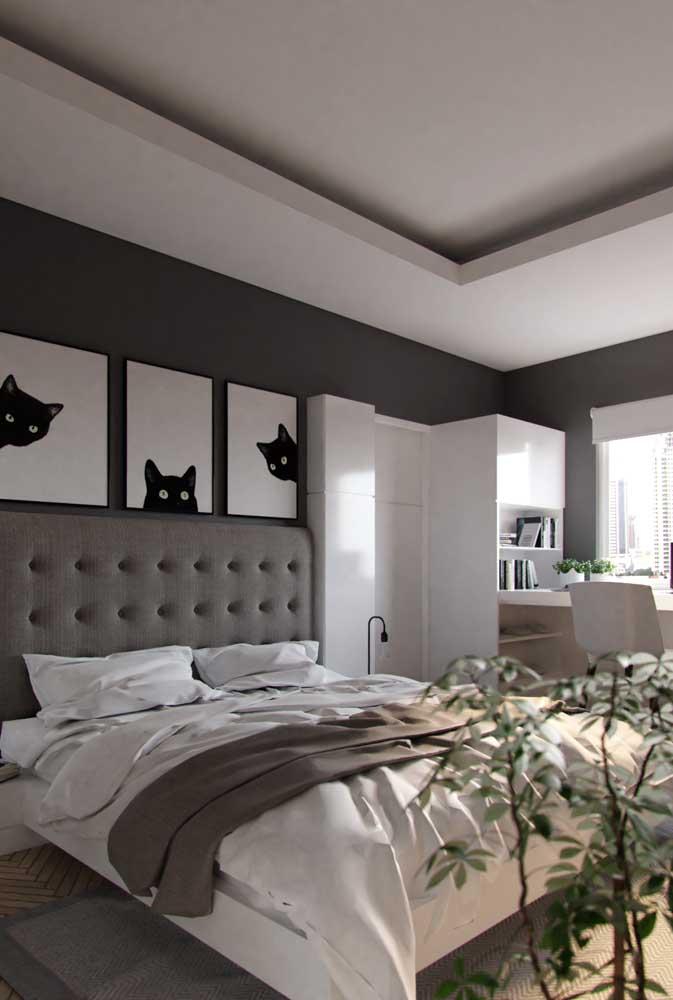 Cinza, branco e preto: um trio imbatível!