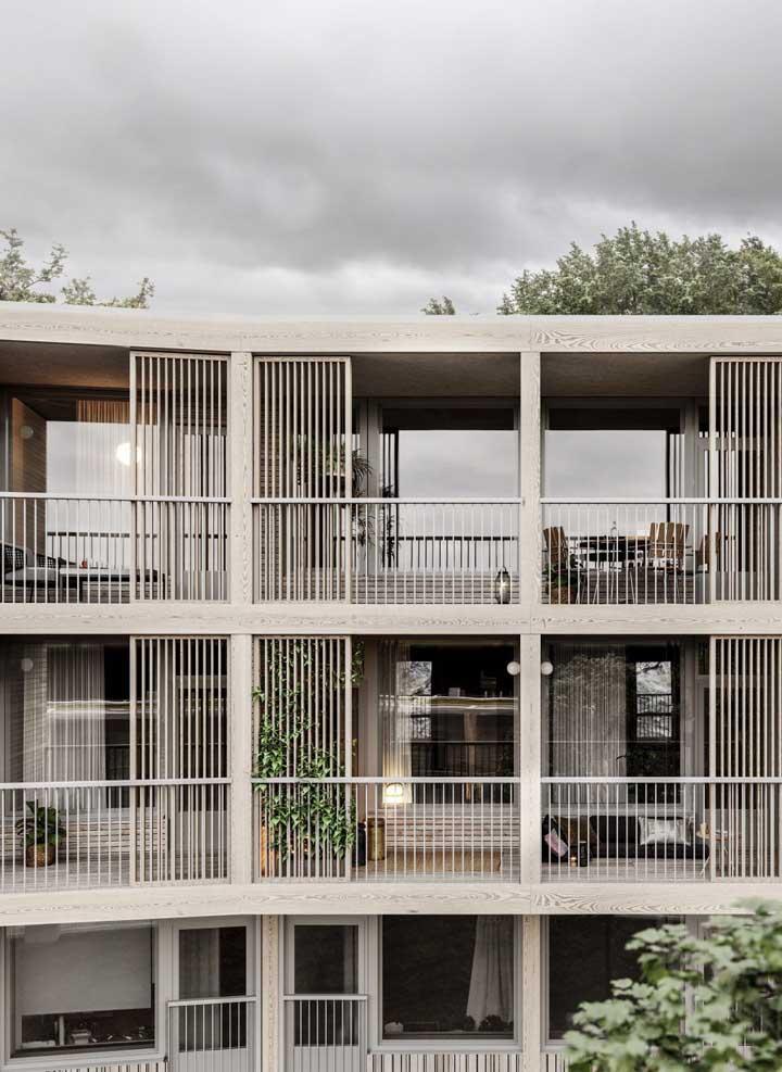 As grades tem uma grande função de proteção em locais altos como varandas de apartamento