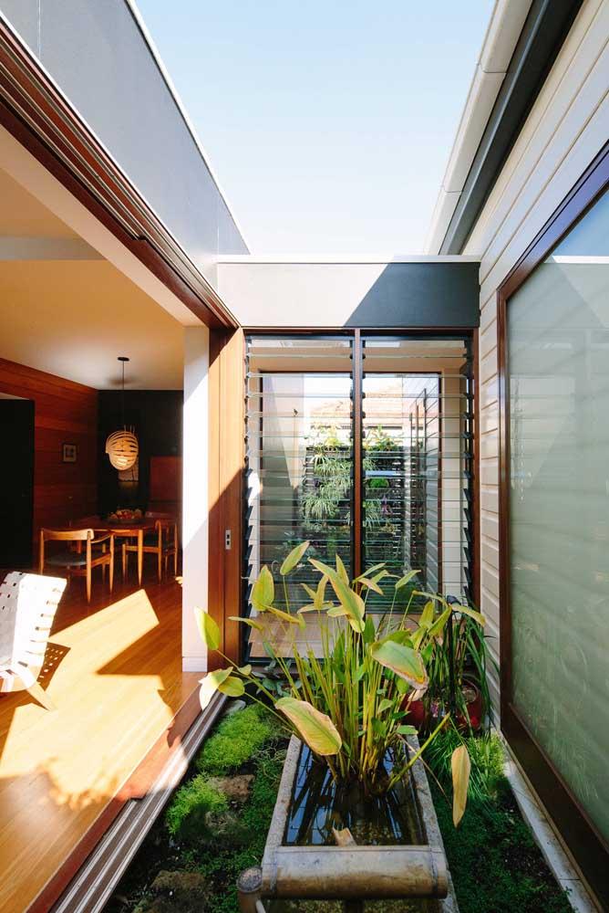 Você pode tranquilamente adaptar o jardim de inverno da sua casa ao conceito de jardim zen
