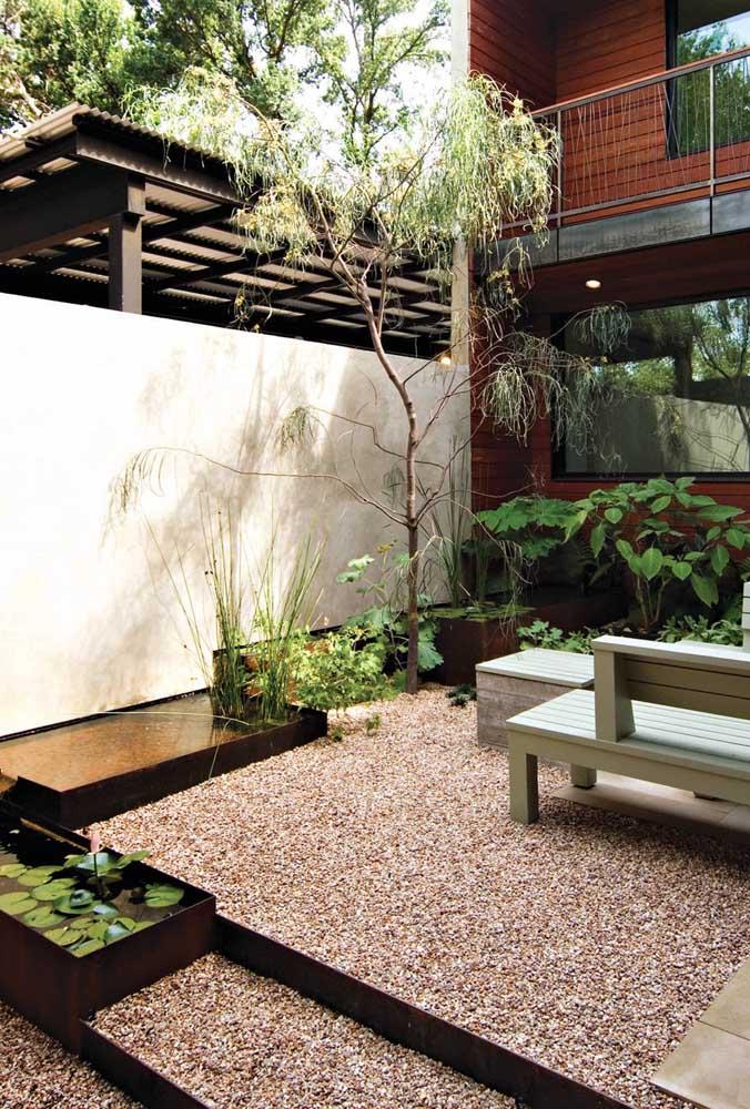 Para montar um jardim zen você não precisa de muito, basta escolher com atenção os elementos que farão parte do projetov