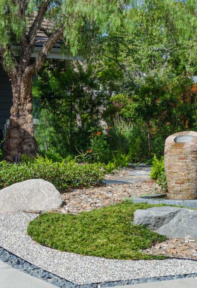 O jardim zen é um retorno a si mesmo e a natureza