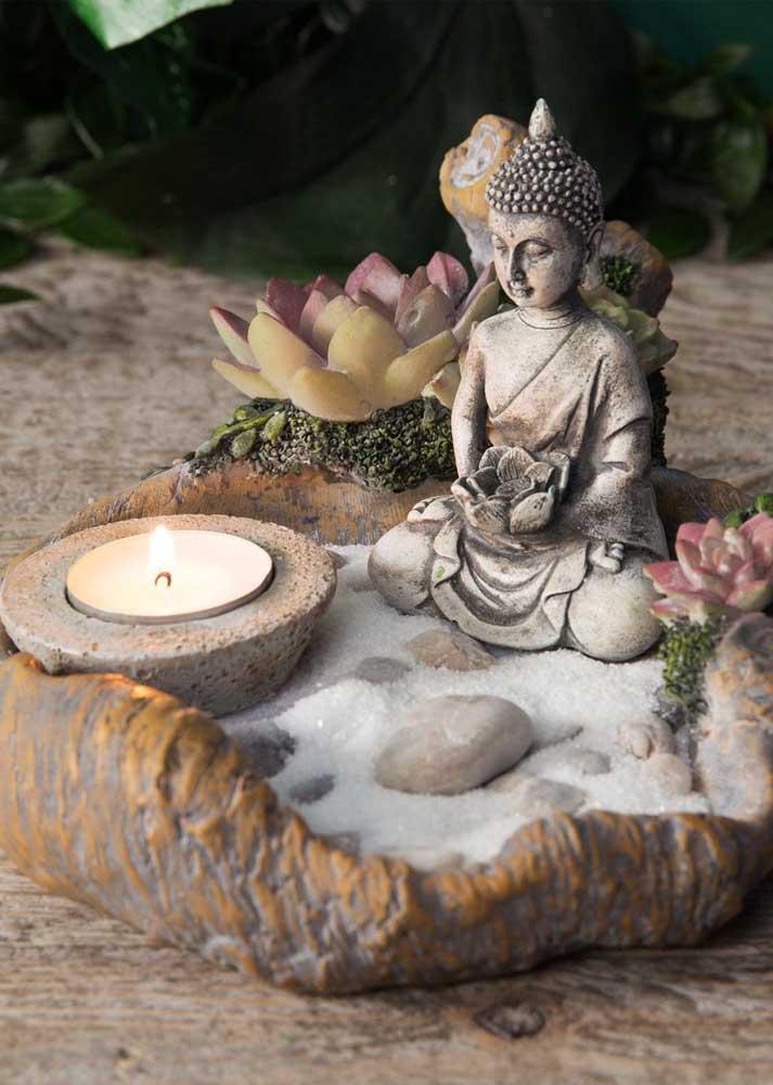 O jardim zen precisa ser montado de uma forma que só de olhar já transmita paz e serenidade