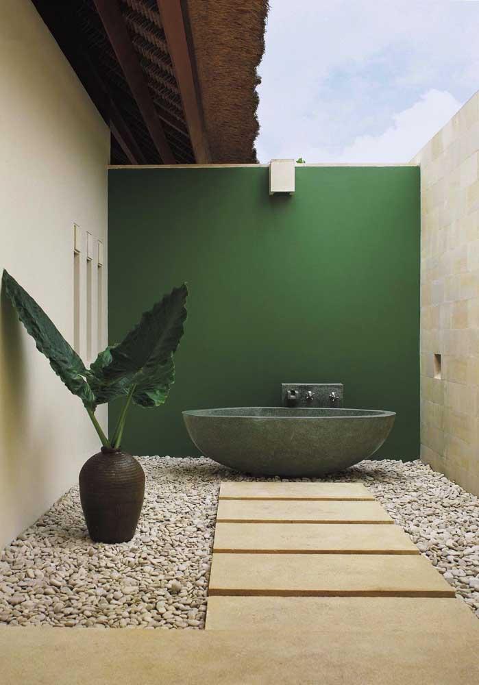 A simplicidade e o minimalismo são premissas básicas de um jardim zen