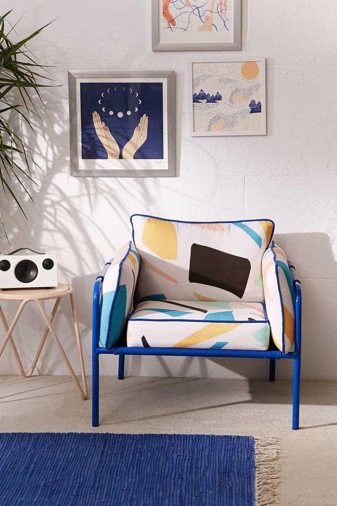 Design, cor e estilo: as poltronas decorativas comportam tudo isso