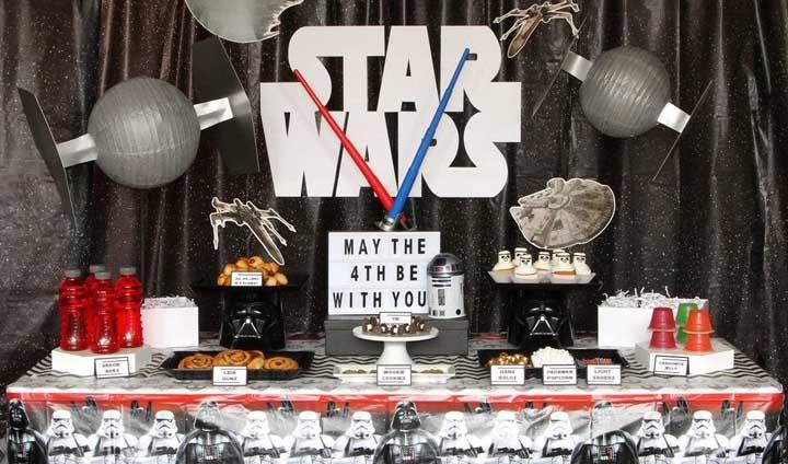 Festa Star Wars: ideias criativas para decorar com o tema