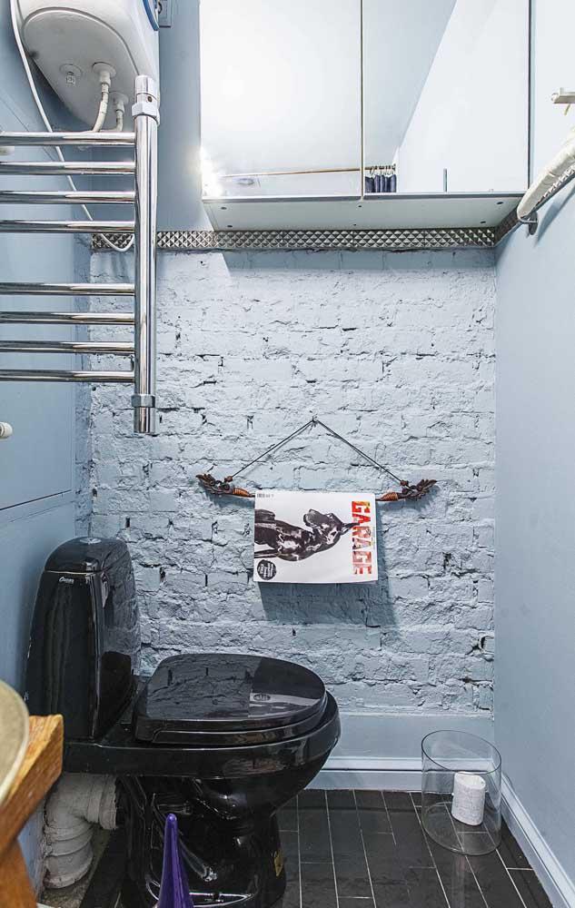 Porta revista para o banheiro no conceito upcycling