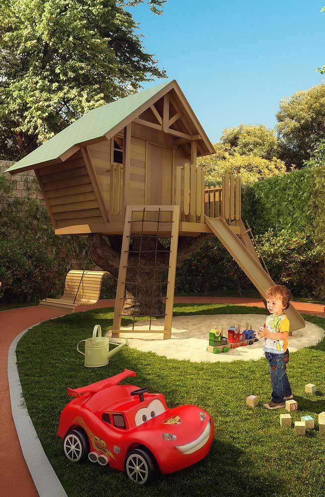 Arquitetura moderna no playground, porque não?