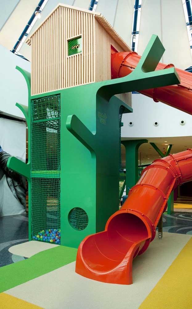 Playground grande para áreas internas