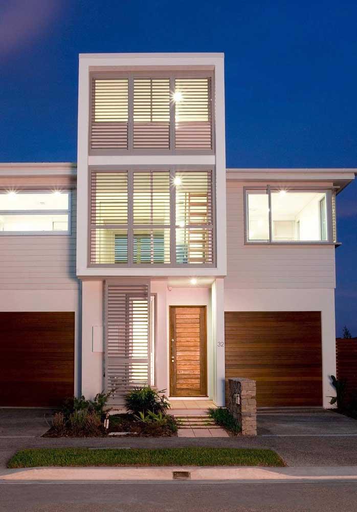 Casas sobrados ou com mais de dois pavimentos também podem ser construídas em Steel Frame