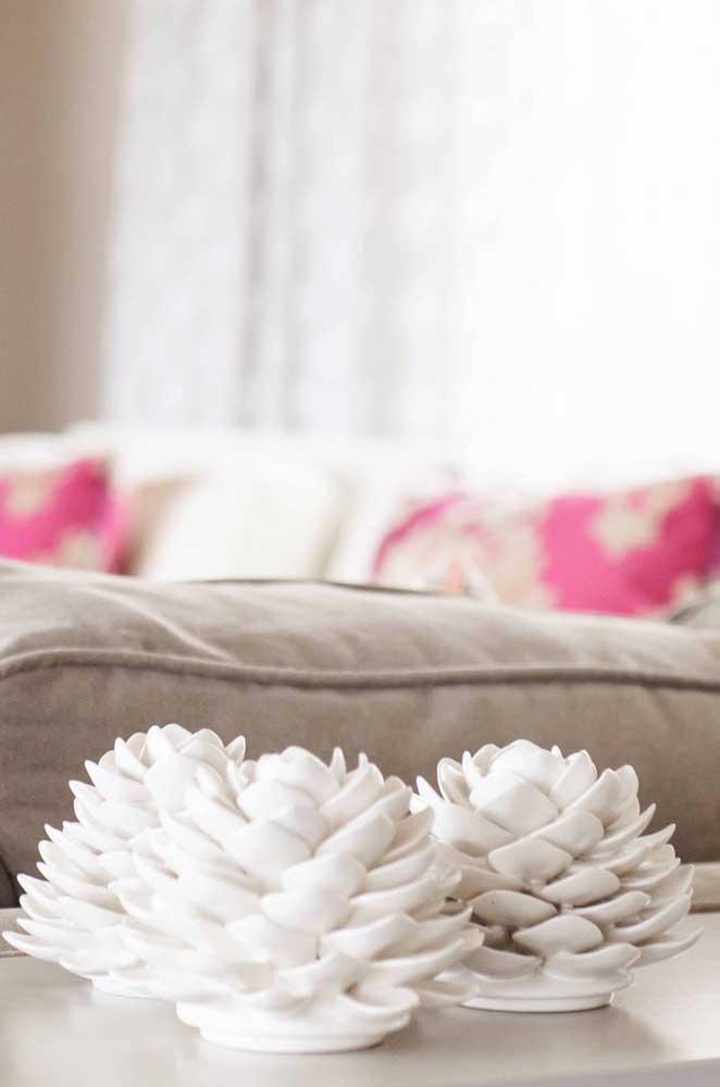 Enfeite simples e muito bonito de flor de lótus