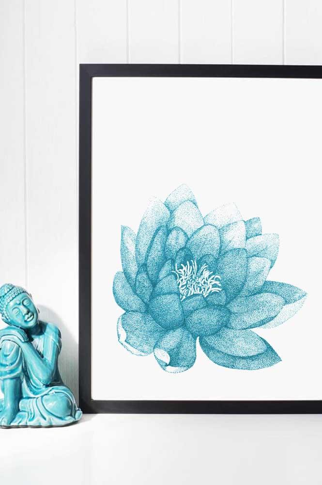 Buda e Flor de Lótus: combinação perfeita para uma decoração com estilo zen e oriental